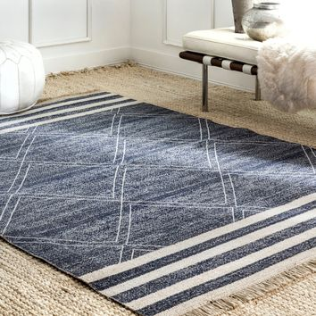 Roberge Coastal Indoor/Outdoor Rug
