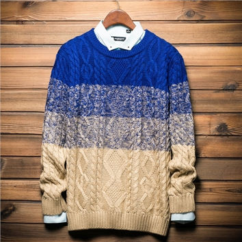 Mens Stylish Comfortable Knit Style Sweater