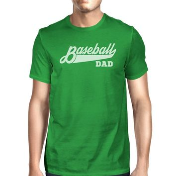 Baseball Dad Men's Funny Graphic Shirt Fathers Day Gifts For Him