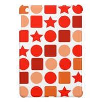 Orange-Flavored Geometrics on iPad Mini Case
