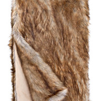 Tawny Fox *Limited Edition* Faux Fur Throw Blanket by Fabulous Furs