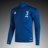 KUYOU Juventus 2017/18 Blue Long Sleeve Training Top