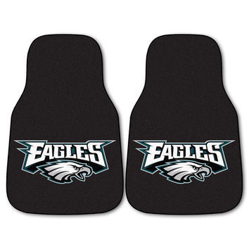 Philadelphia Eagles NFL Car Floor Mats (2 Front)