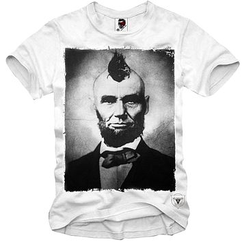 SHIRT ABRAHAM LINCOLN Punk Hipster President Disobey Cali Weed (S-3XL)