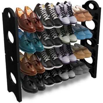 Sorbus Shoe Rack Organizer Storage, Holds up to 20 Pairs of Shoes