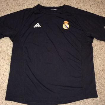 Sale!! Vintage Adidas REAL MADRID Fc 2002 soccer Jersey RMFC Football Shirt