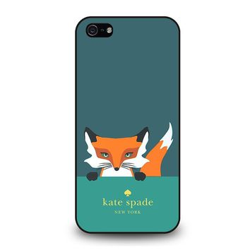 KATE SPADE NOVELTY FOX iPhone 5 / 5S / SE Case Cover