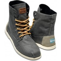 Taupe Aviator Twill Men's Utility Boot