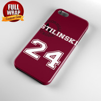 Teen Wolf Inspired Stiles Stilinski Jersey Beacon Hills Lacrosse Alpha Custom Full Wrap Phone Case For iPhone, iPod, Samsung, Sony, HTC, Nexus, LG, and Blackberry