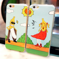 Iphone 6/6s Hot Deal Stylish Cute Hot Sale On Sale Iphone Couple Soft Phone Case [6034114241]