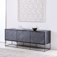 "Slate Industrial Media Console (68"")"