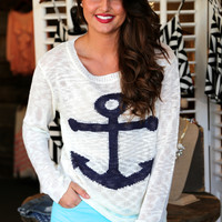 Sea Side Anchor {Knit}