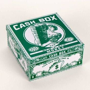 Cash Box Petite Tin Cigar Box