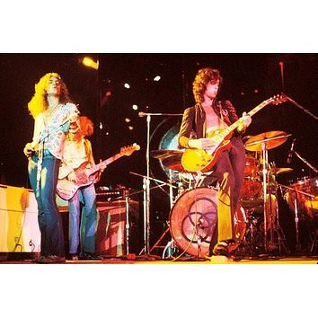 Led Zeppelin poster Metal Sign Wall Art 8in x 12in