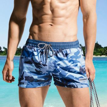 Camouflage Beach Shorts Mens Swimming Shorts Swimwear Quick Dry Bermuda Surf Boardshorts Men Swim Short Trunk Summer Beachwear