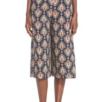 Junior Women's Soprano Print Gaucho Pants,