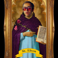Elton John Prayer Candle