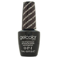 OPI Gelcolor Collection Nail Gel Lacquer, Lincoln Park After Dark, 0.5 Fluid Ounce