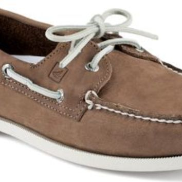 Sperry Top-Sider Authentic Original Echo 2-Eye Boat Shoe Sand, Size 12M  Men's