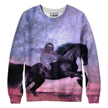 Majestic Sloth Sweatshirt