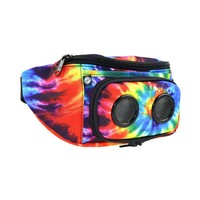 JammyPack Bluetooth Portable Speaker Hip Pack with Rechargeable Battery Tye Dye, One