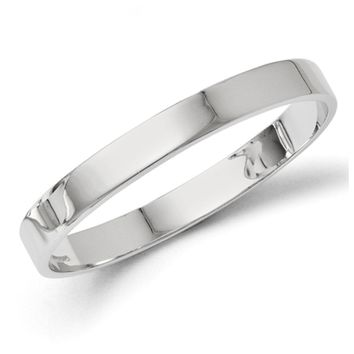 Sterling Silver 9mm Polished Bangle Bracelet
