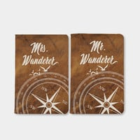 Personalized couple Passport covers full print Mr and Mrs.wanderlust christmas gift wedding anniversary gift passport holder passport wallet