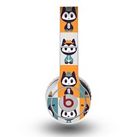 The Retro Cats with Accessories Skin for the Original Beats by Dre Wireless Headphones