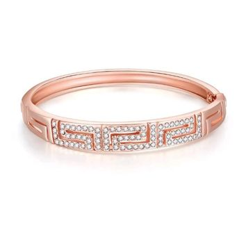 Maze CZ Bangle