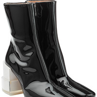 Maison Margiela - Patent Leather Ankle Boots