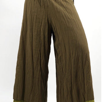 SALE !!!! Earthy hippy pants pixie fairy pants baggie flowy alladdin funky festival comfortable yoga pants