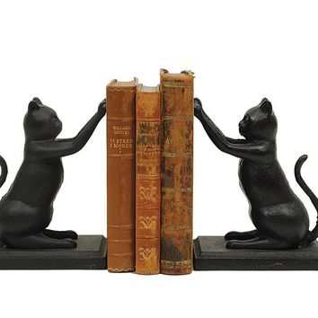 Cat Bookends By Creative Coop