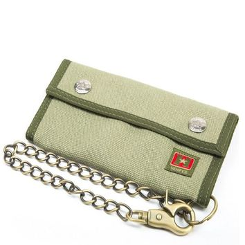 Trucker Chain Hemp Wallet