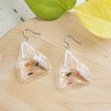 Fighting Fish Earrings