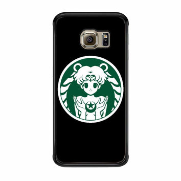 Sailor Moon Coffee Samsung Galaxy S6 Edge Case