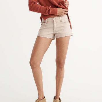 Womens Low Rise Denim Shorts | Womens Bottoms | Abercrombie.com