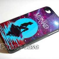 In The Moon light Nebula Space Ariel The Little Mermaid iPhone Case And Samsung Galaxy Case