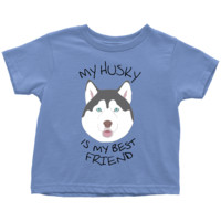 Toddler 2T - 5/6 Husky T-shirt