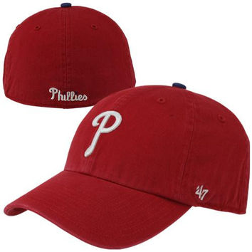 Philadelphia Phillies '47 Brand Classic Franchise Fitted Hat – Red