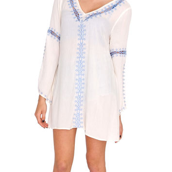 Breakout Tunic Dress - Ivory