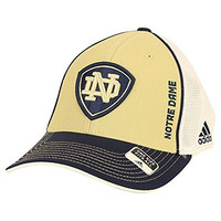Adidas Notre Dame Fighting Irish Mesh Back Stretch Fit Baseball Hat