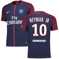 Nike Neymar Santos Paris Saint-Germain Navy 2017/18 Vapor Match Home Authentic Jersey