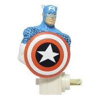 Captain America Resin Nightlight
