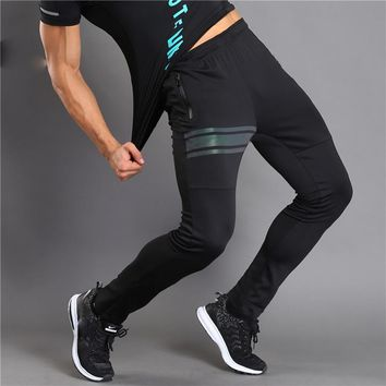 Men Fitness Pants Men Elastic Breathable Joggers Pants Male Trousers Men's Joggers Solid Pants Sweatpants
