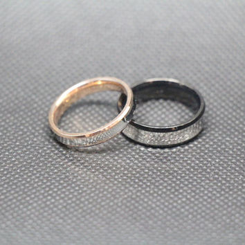 shop engraved promise rings for couples on wanelo. Black Bedroom Furniture Sets. Home Design Ideas