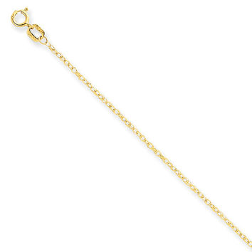 14k Solid Yellow Gold Chain 14 inch and 18 inch Best Price