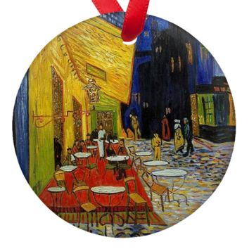 Van Gogh Cafe Porcelain Ornaments