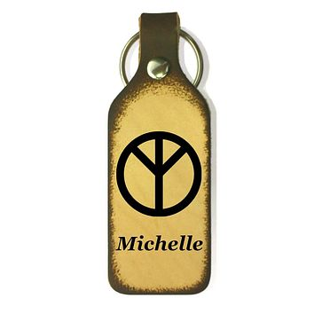 Say My Name Personalized Keychain with Symbol
