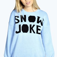 Jenny Snow Joke Christmas Jumper