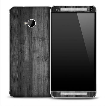 Dark Wood Skin for the HTC One Phone